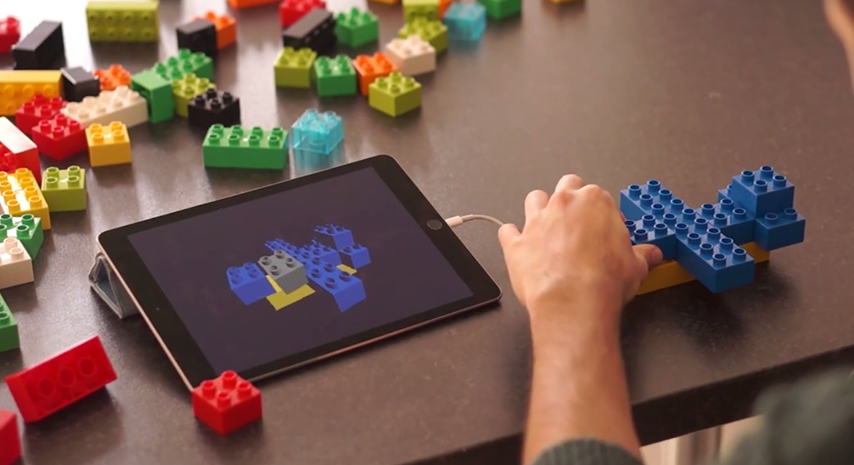 Augmented reality app lego x simplifies 3d modeling 3d modeling app