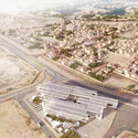 "AGi architects' ""Floating"" Courthouse Wins Second Prize in Qatar Competition © Poliedro Estudio"