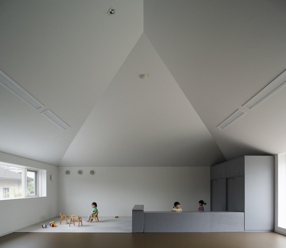 Jardín de infantes Hakemiya / rhythmdesign + CASE-REAL, © Yoshikazu Shiraki