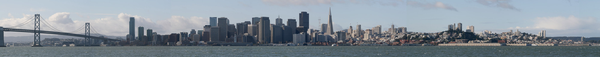 Skyline de San Francisco en 2009. Image © Leonard G. Vía Wikipedia CC