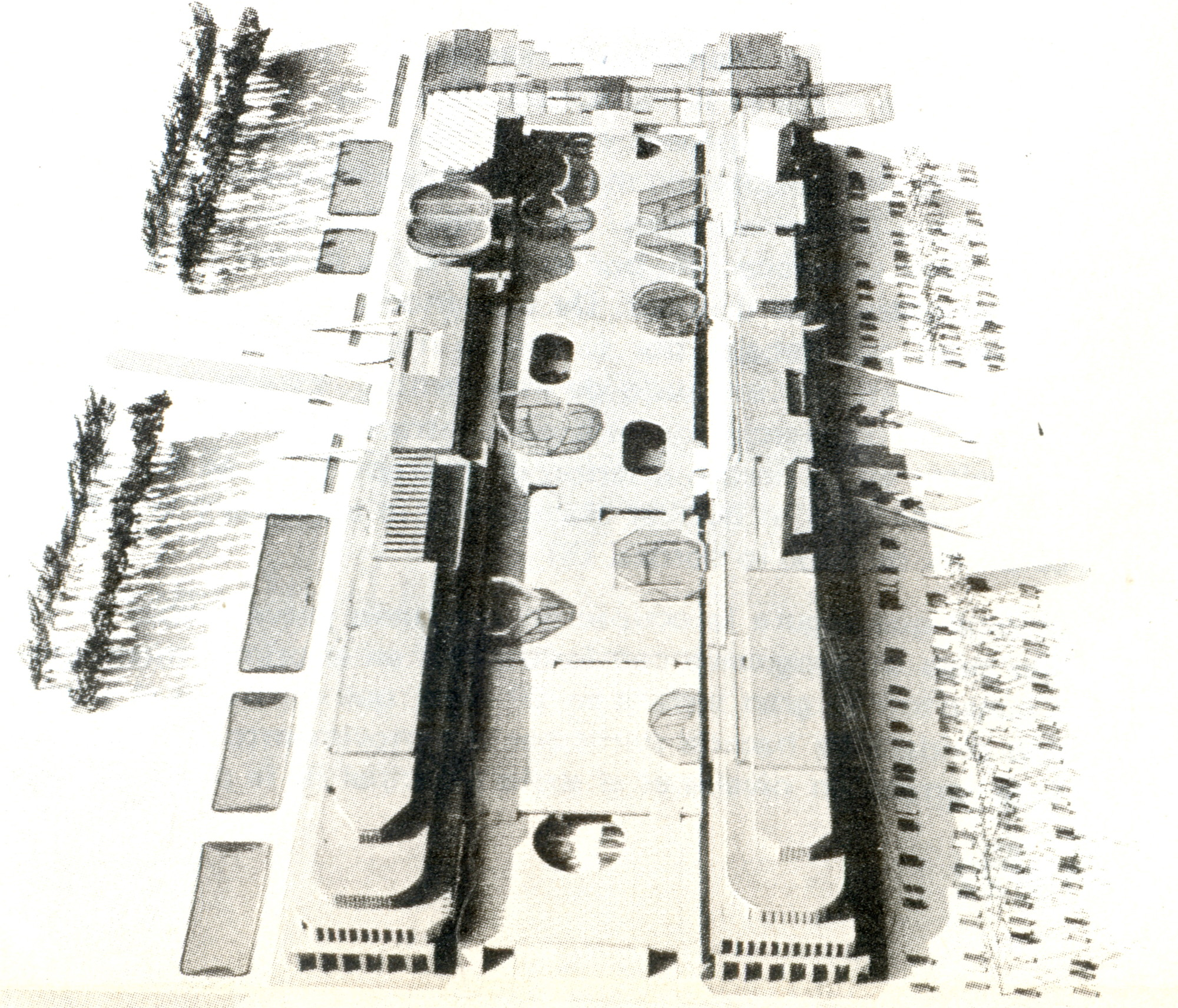 Maqueta del Centro Cívico. Image Cortesia de CA 18