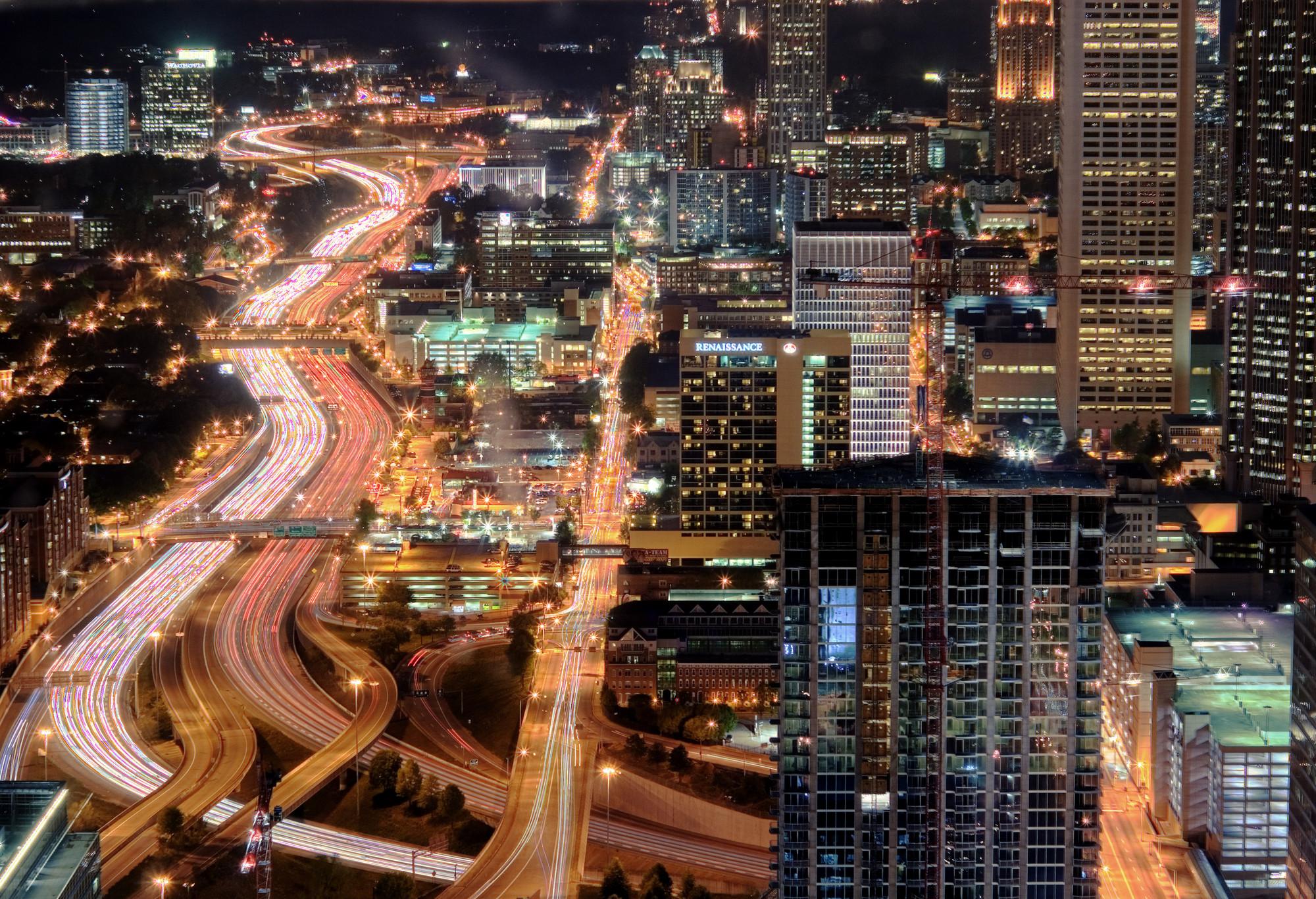 Atlanta . Image © Flickr CC User Brett Weinstein