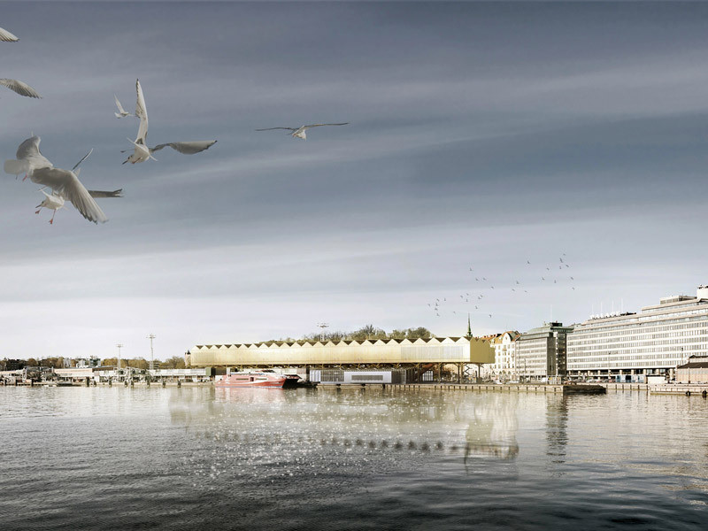 One of the finalists in the Guggenheim Helsinki competition. Image Courtesy of Malcolm Reading Consultants