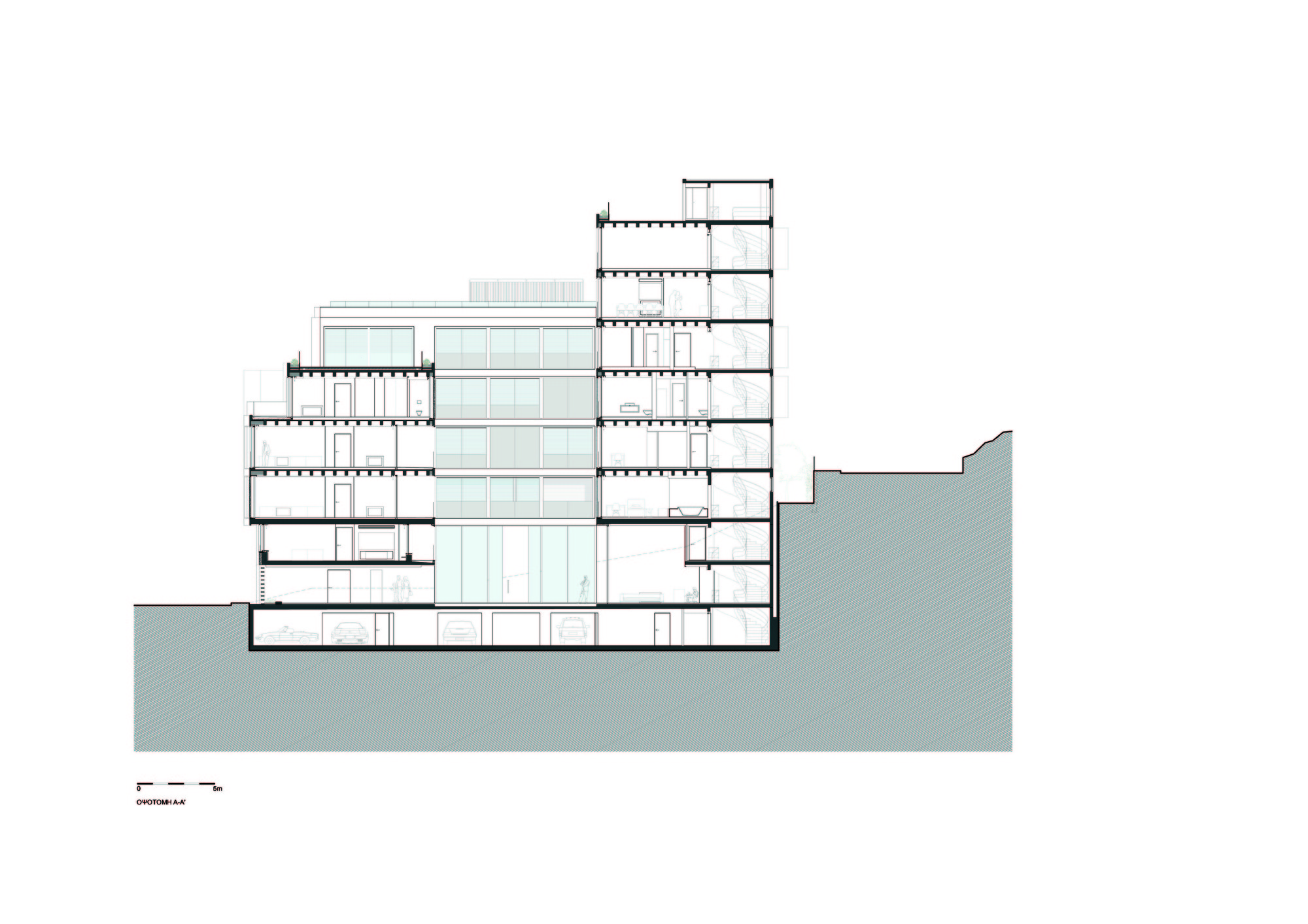 Cross Section Of A Building Plan