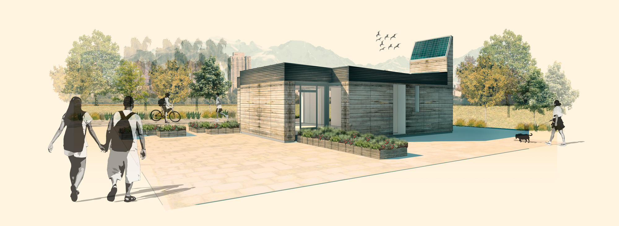 Construye Solar: Casa Tempero, sistemas bioclimáticos pasivos en viviendas sociales, Cortesia de Equipo TLC331