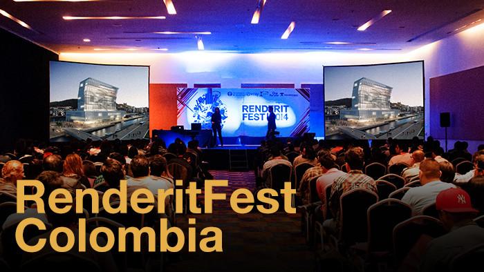 Renderit Fest Colombia /¡Sorteamos dos pases! [cerrado]