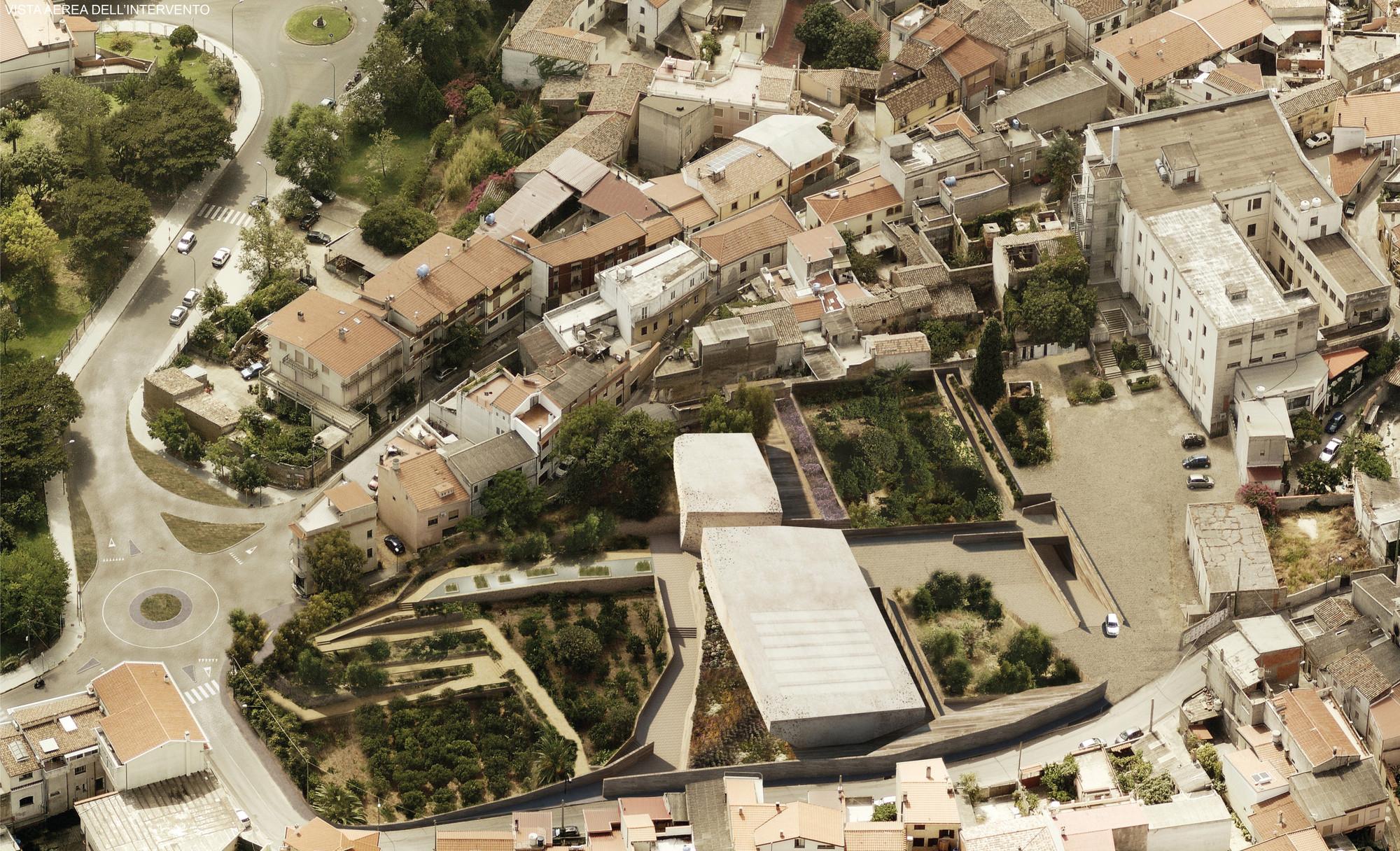 Vista aérea. Image Cortesia de 3TI_LAB