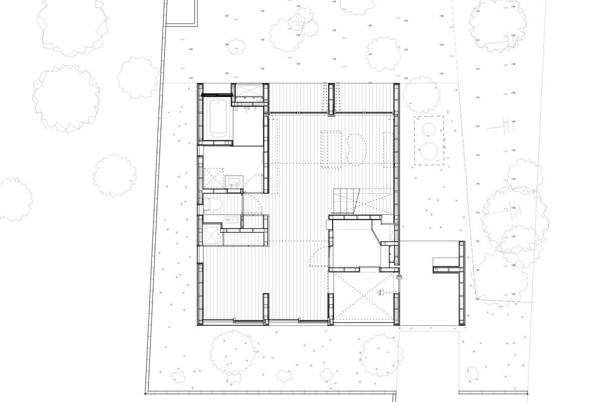 Gallery of house passage of landscape ihrmk 13 for Floor plan landscape