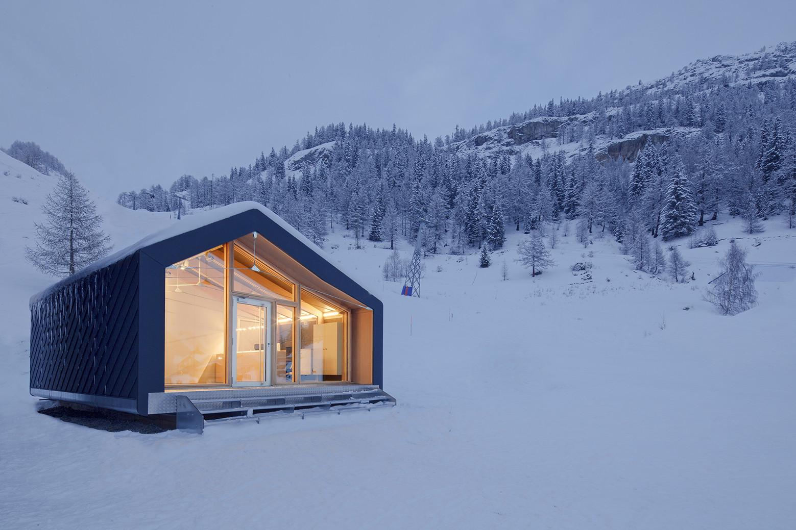 Escuela de Esquí & Snowboard Courmayeur / LEAPfactory, © Francesco Mattuzzi