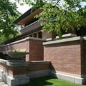 Frederick C. Robie House. Image © Nat Hansen