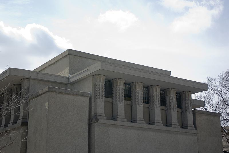 Unity Temple. Imagen © Flickr User sjgardiner