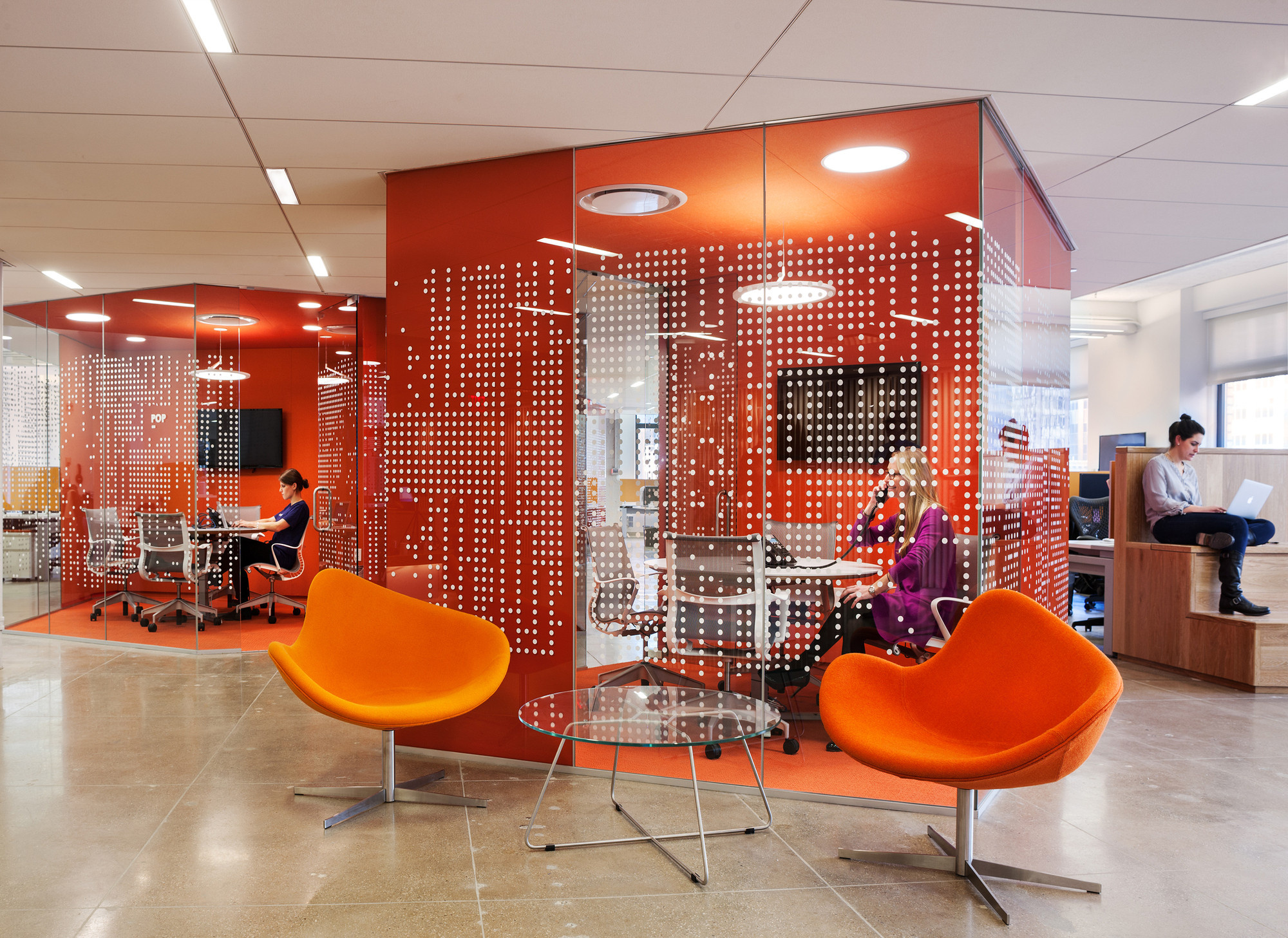 Pandora Media Inc. New York Office. Image © Durston Saylor