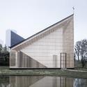 Nanjing Wanjing Garden Chapel / AZL Architects. Image © Yao Li