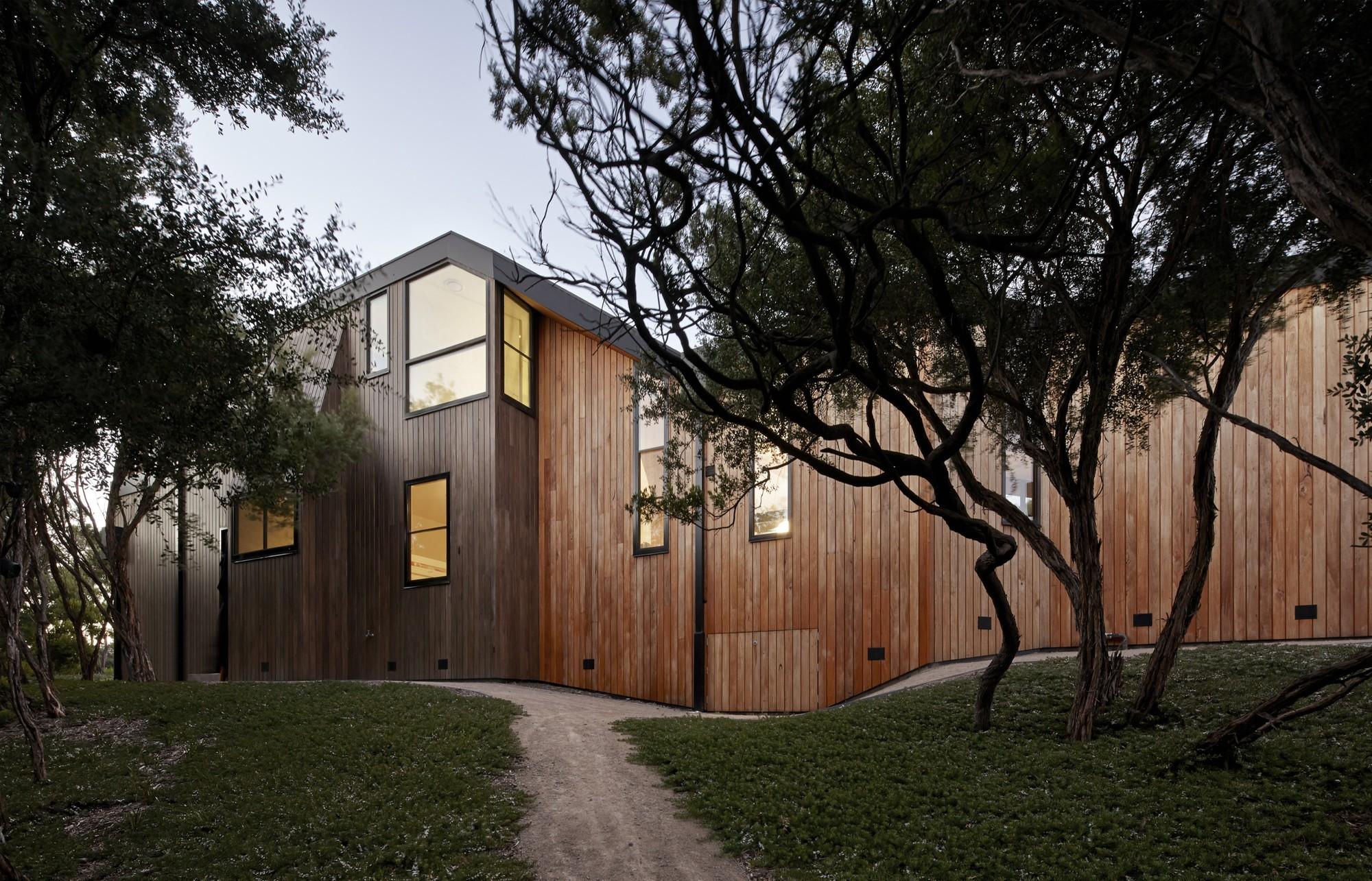 Holiday House / BKK Architects, © Peter Bennetts