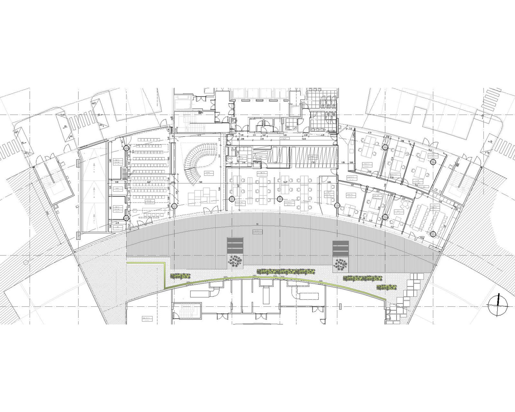 Law Office Floor Plan: Miranda Law Firm / Rita Pinto Ribeiro