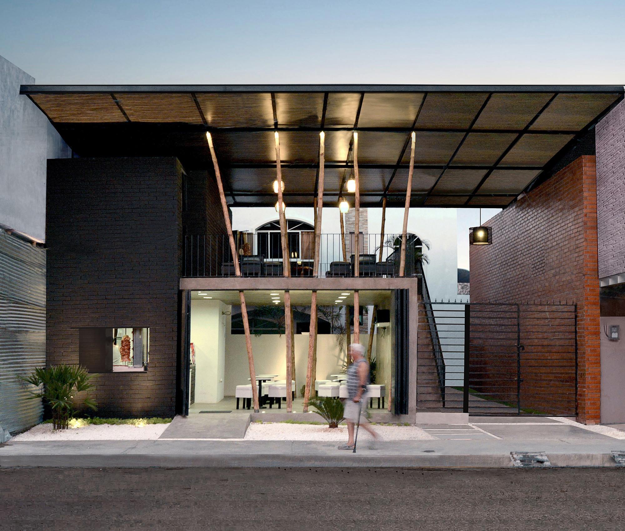 Restaurante don shawarma natura futura arquitectura for Restaurante arquitectura