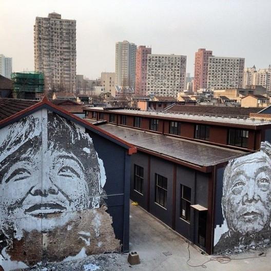 """Arte y Arquitectura: Los murales del portugués Vhils, creados a través de la """"destrucción"""", © Vhils (vía Facebook)"""