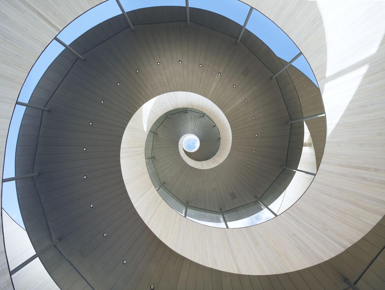 Ribbon Chapel Hiroshi Nakamura NAP Architects ArchDaily