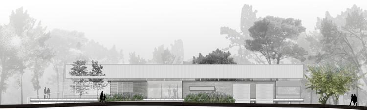 Elevación/fachada noroeste