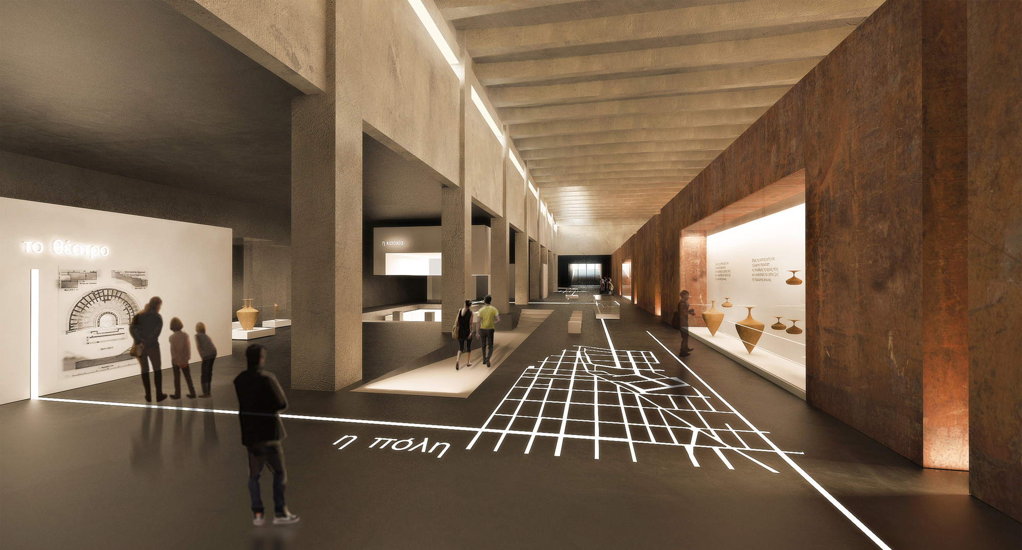 Exhibition Booth Proposal : Tsabikos petras wins first prize for greek archaeology