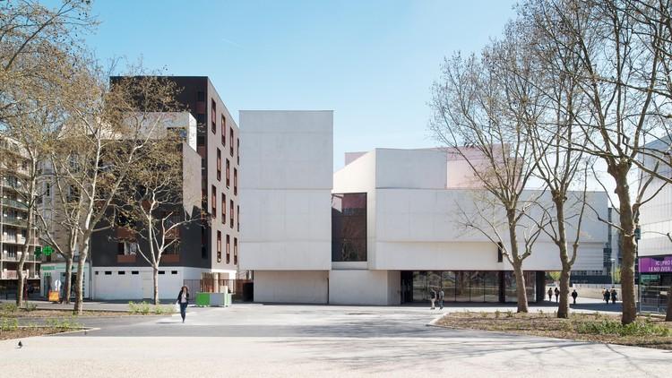 Teatro en Montreuil / Dominique Coulon Architecte, © Martin Argyroglo
