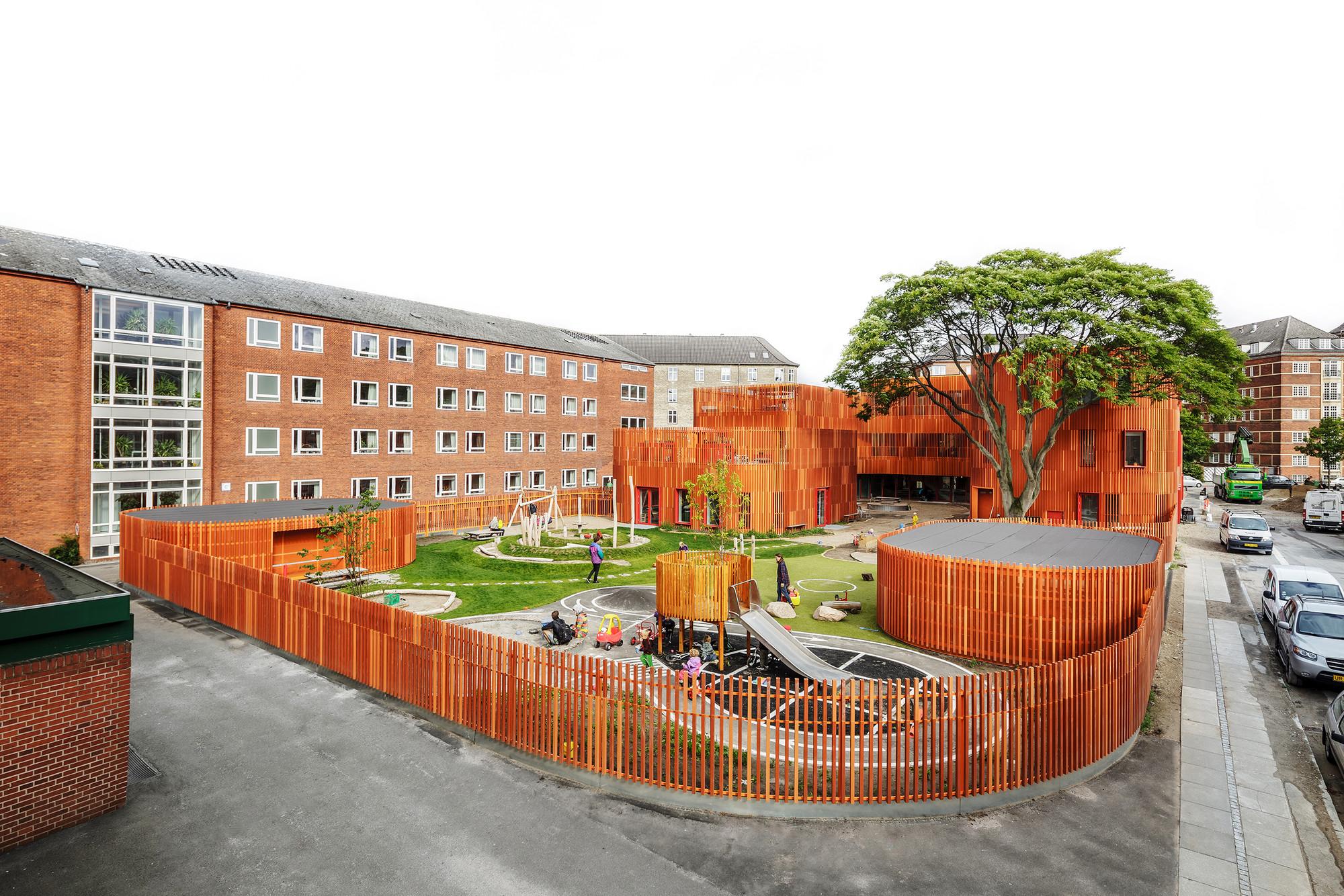 Forfatterhuset Kindergarten. Imagen © Rasmus Hjortshøj and Adam Mørk