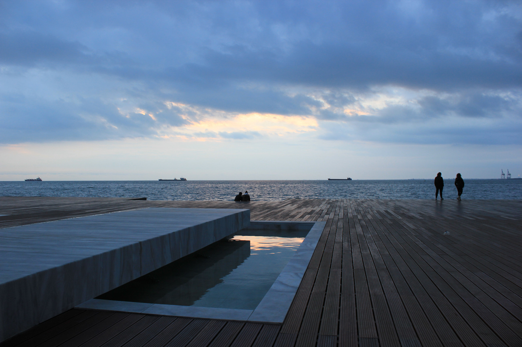 Redevelopment Of The New Waterfront In Thessaloniki. Image © Prodromos Nikiforidis