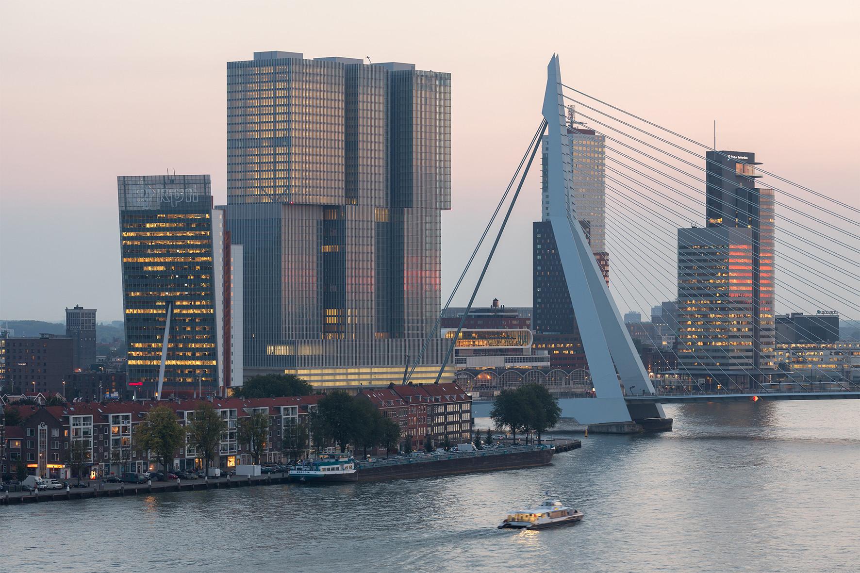 De Rotterdam. Imagen © Ossip van Duivenbode