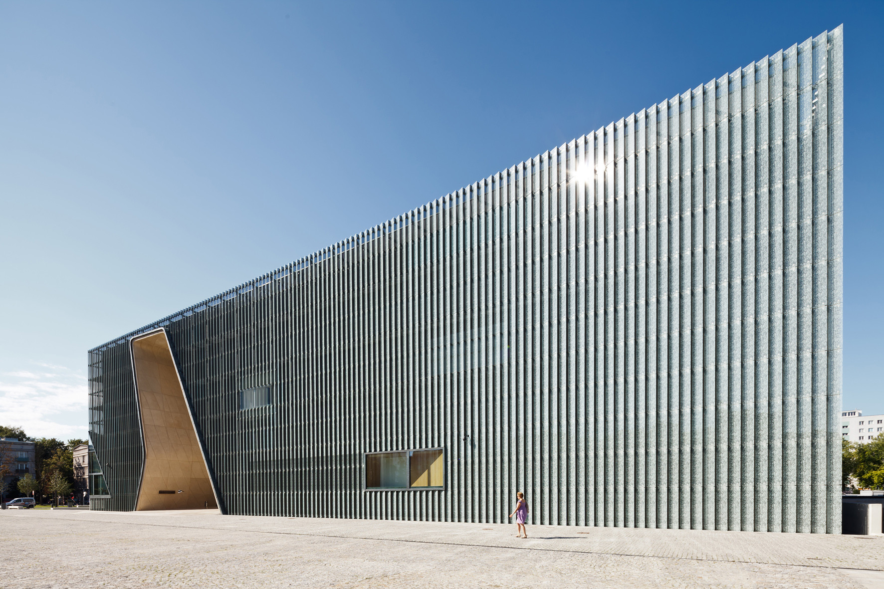 Museum Of The History Of Polish Jews. Image © Pawel Paniczko