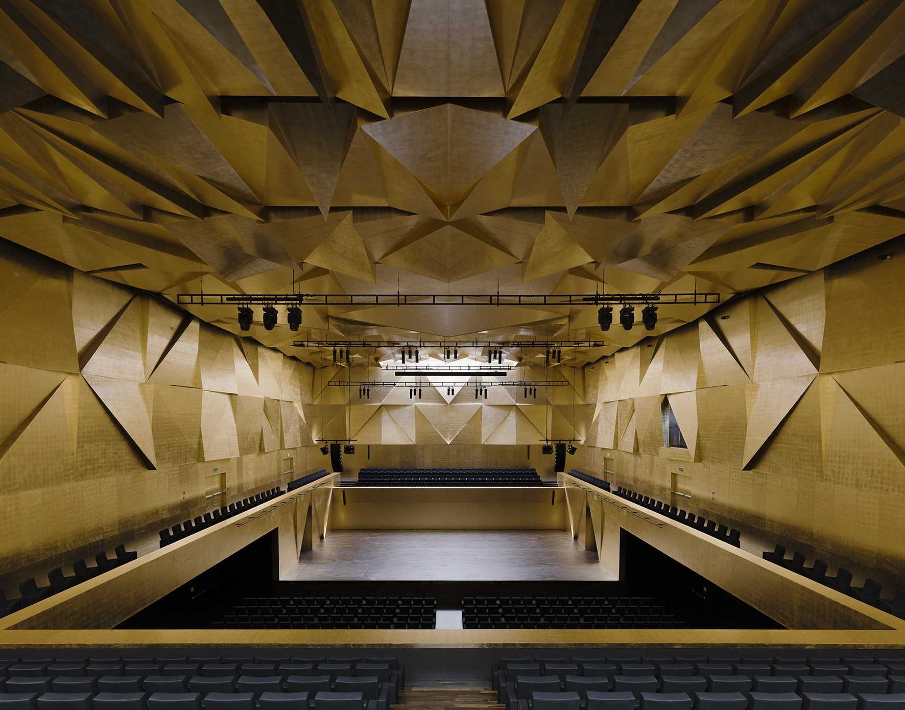 Philarmonic Hall Szczecin. Image © Simon Menges