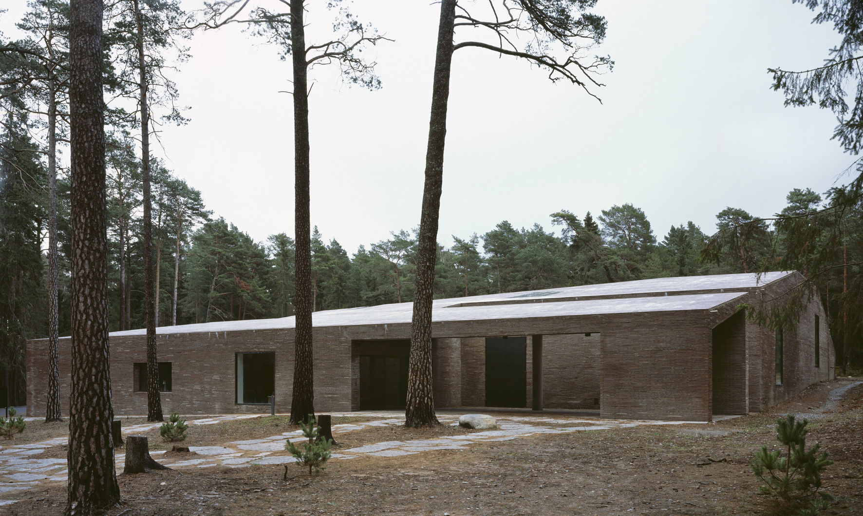 The New Crematorium Of The Woodland Cemetery. Image © Ioana Marinescu