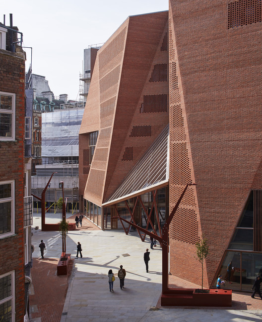 Saw Swee Hock Student Centre, London School Of Economics. Image © Dennis Gilbert