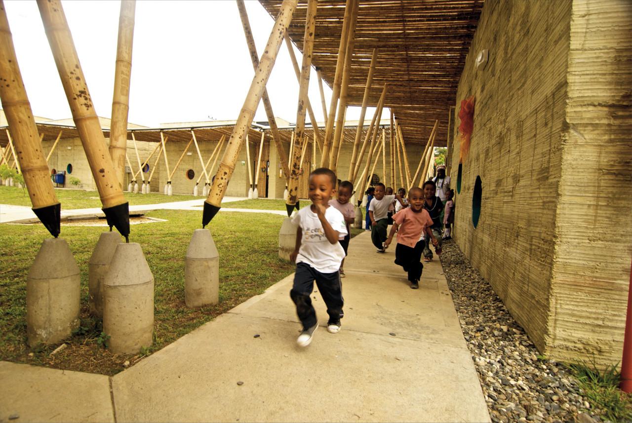 Centro de Desarrollo Infantil El Guadual. Image © Ivan Dario Quiñones Sanchez