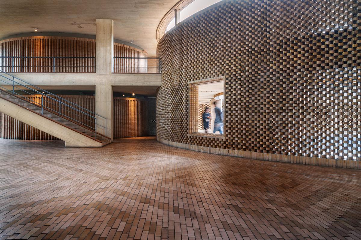 Galer a de arquitectura moderna colombiana en la unal for Arquitectura moderna en colombia