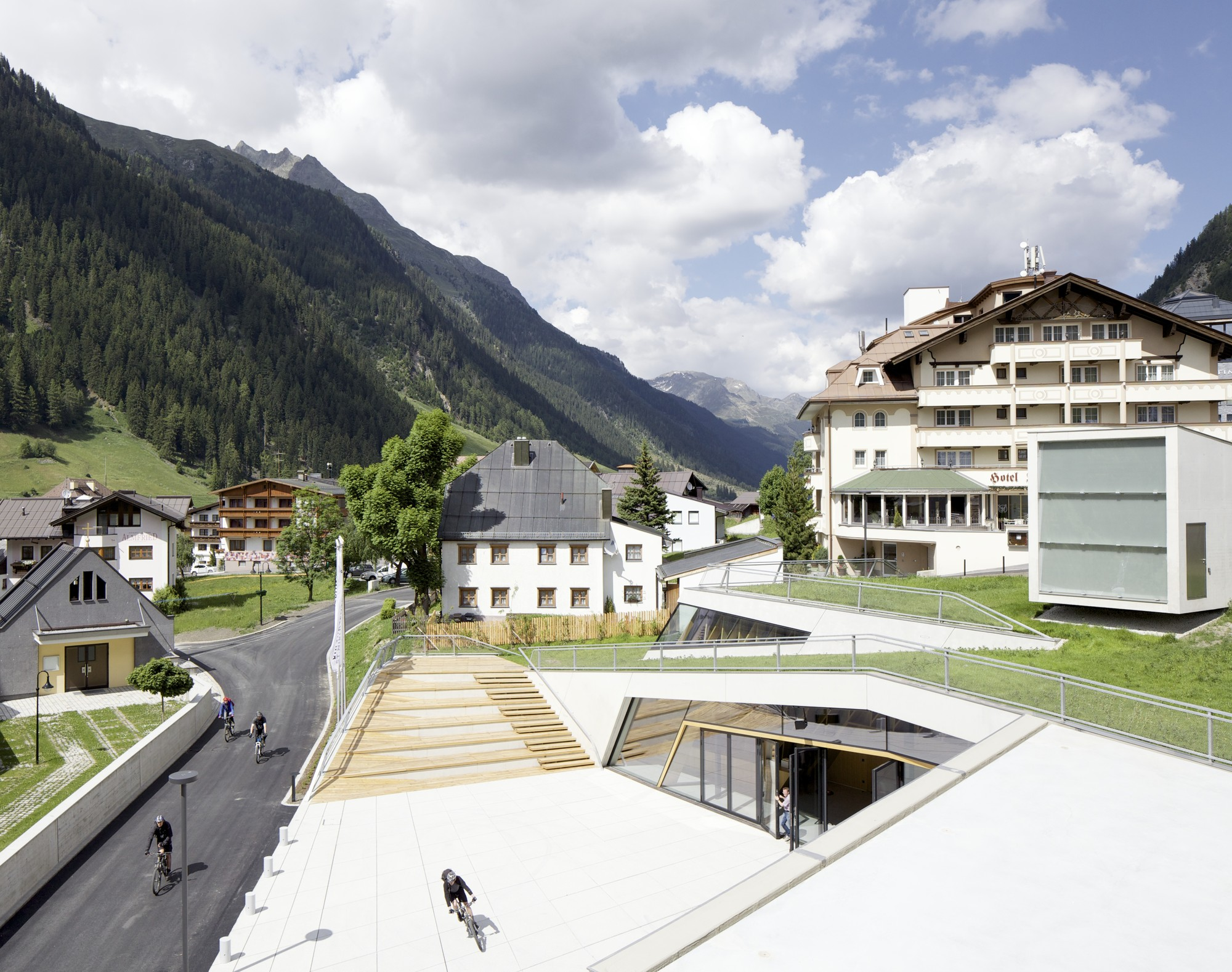 Kulturzentrum Ischgl / Parc Architekten, © David Schreyer