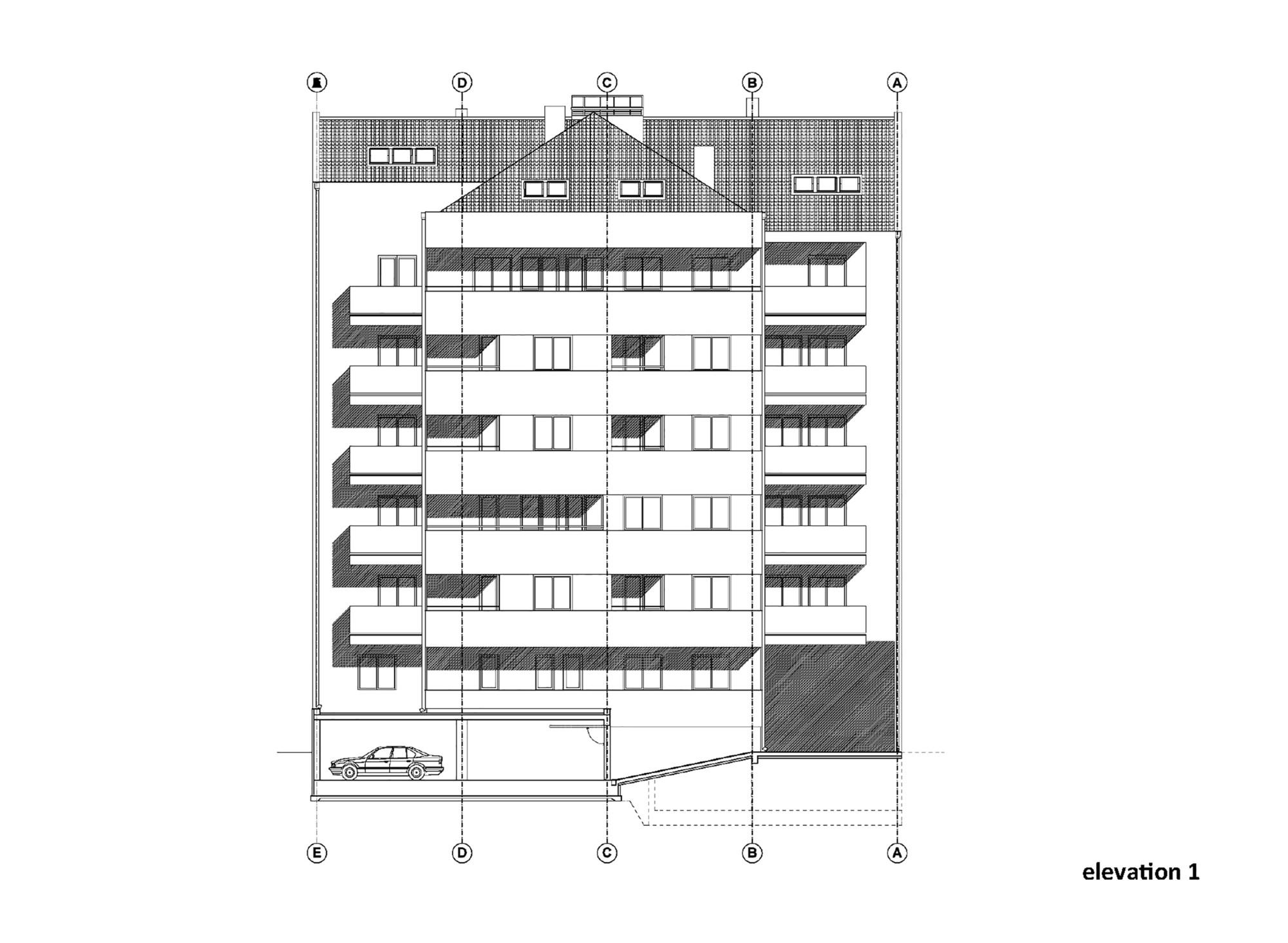 Gallery Of Residential Building In Vase Staji A Street