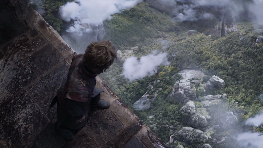 """The Sky Cell in Game of Thrones uses dizzying height to trap its prisoners, with the added """"benefit"""" of providing psychological punishment. Image © Home Box Office"""