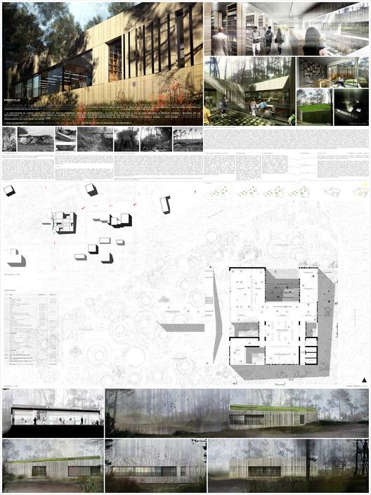 Lámina. Image Cortesia de MBAD Arquitectos