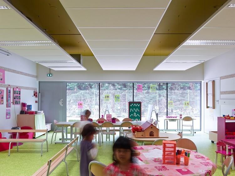 Escuela Lucie Aubrac / Laurens&Loustau Architectes. Image © Stéphane Chalmeau