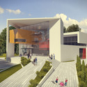Auerbach Halevy Wins Competition to Design Jewish Sports Museum in Ramat Gan © Lilika Studio Arch-viz Studio