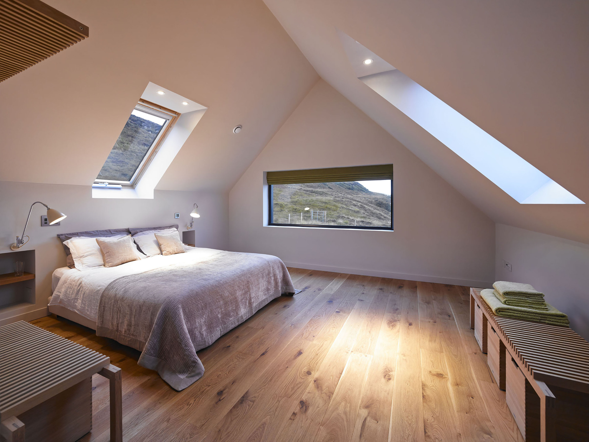 Gallery of private residence on isle of skye dualchas architects 7 - Houses three attic bedrooms ...