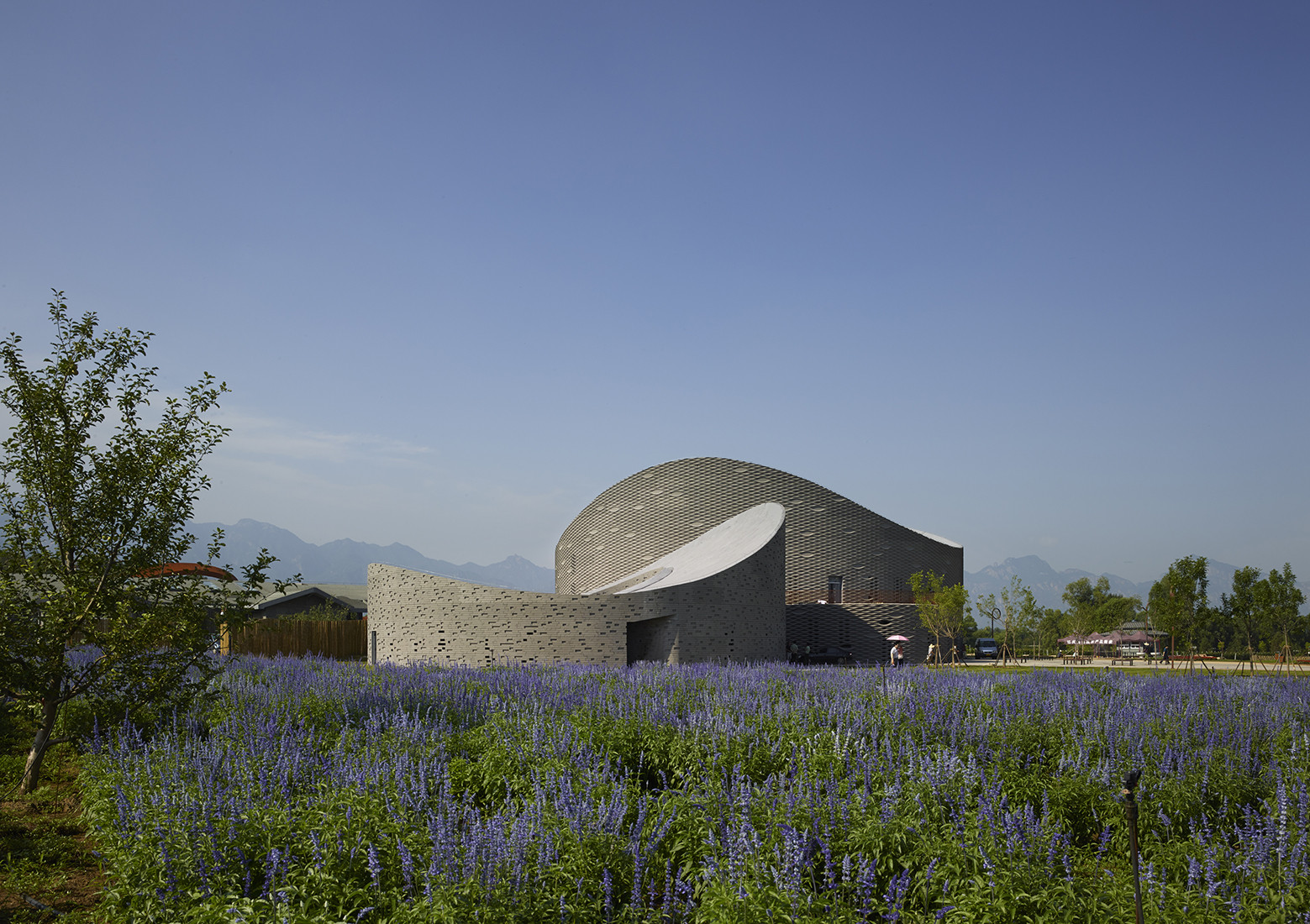 Exhibición de uva Yanqing / Archea Associati, © Cristiano Bianchi