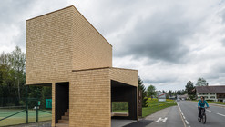 Bus Stop Kressbad / Rintala Eggertsson Architects