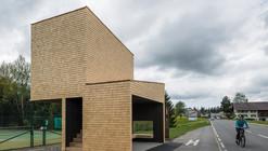 Paradero de buses en Kressbad / Rintala Eggertsson Architects