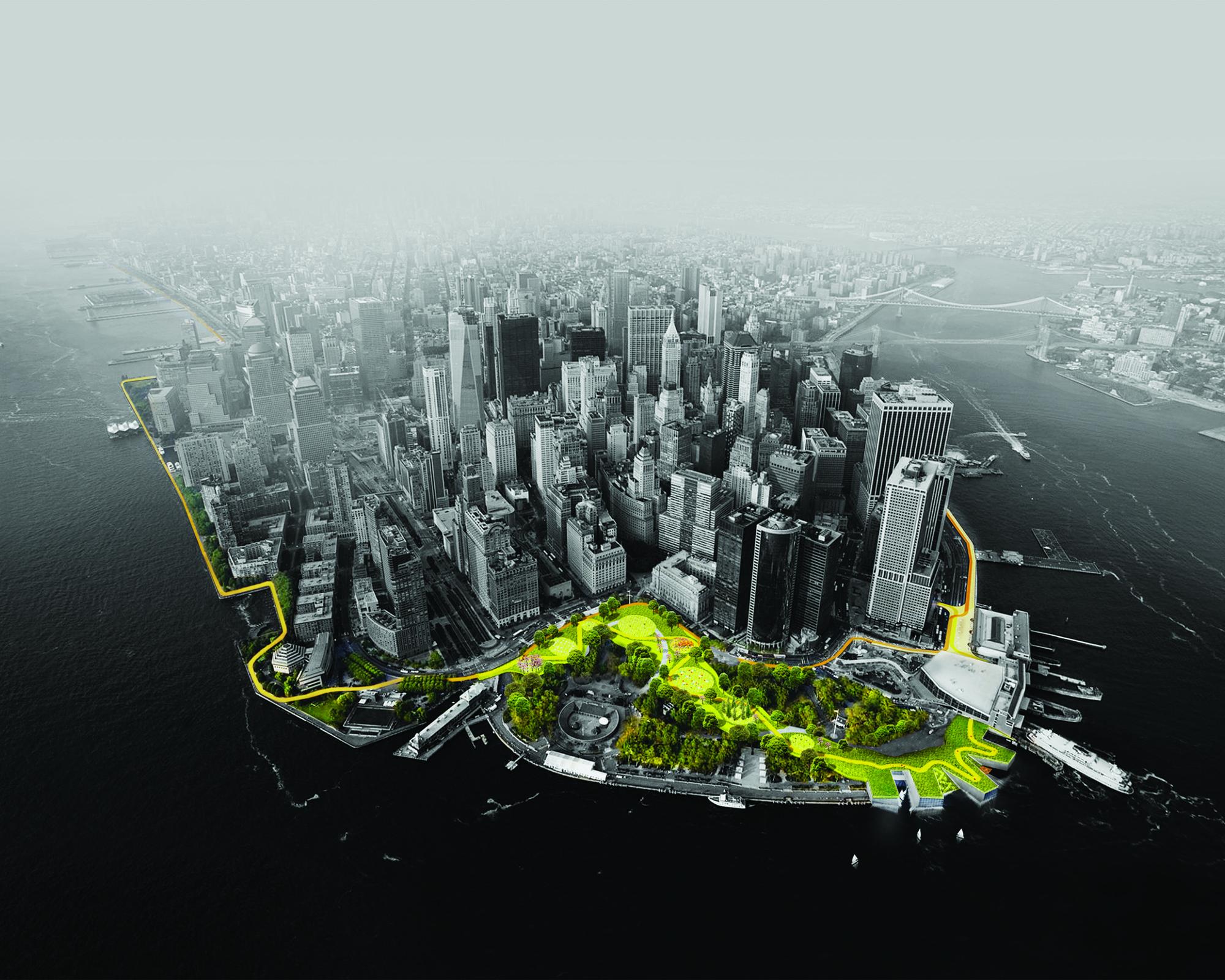 "NYC's ""The BIG U"" . Imagen © BIG"