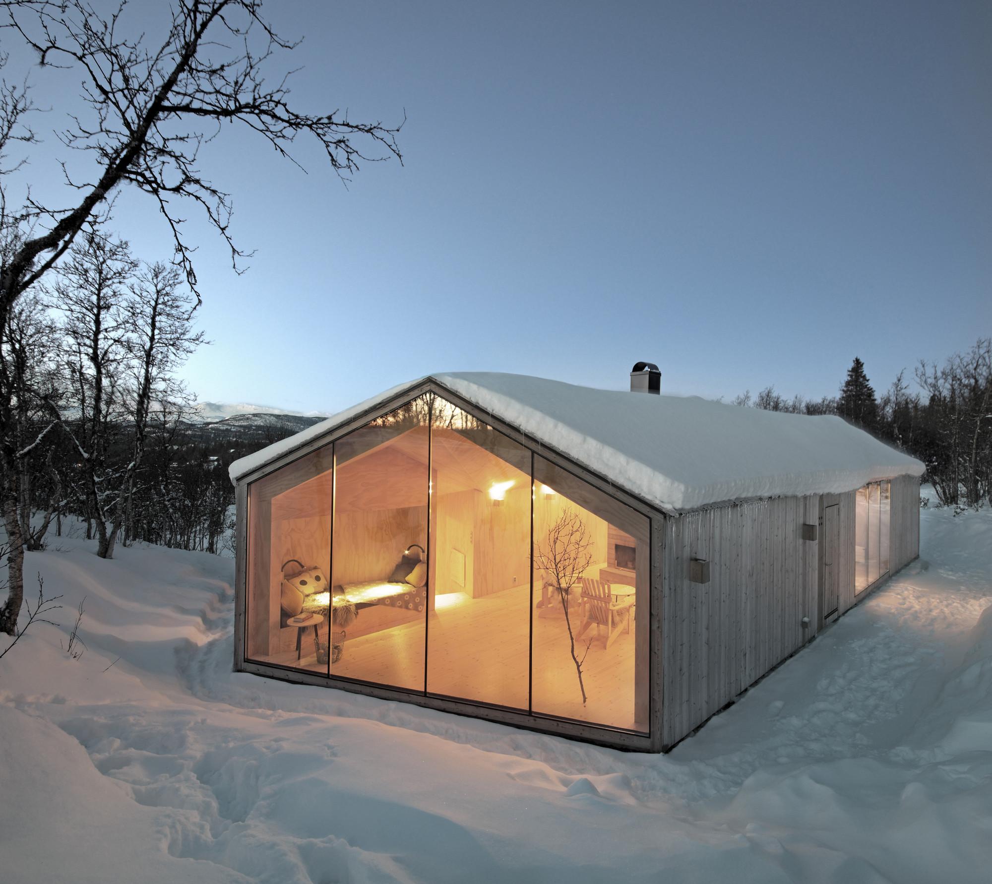 V-Lodge / Reiulf Ramstad Arkitekter, © Søren Harder Nielsen