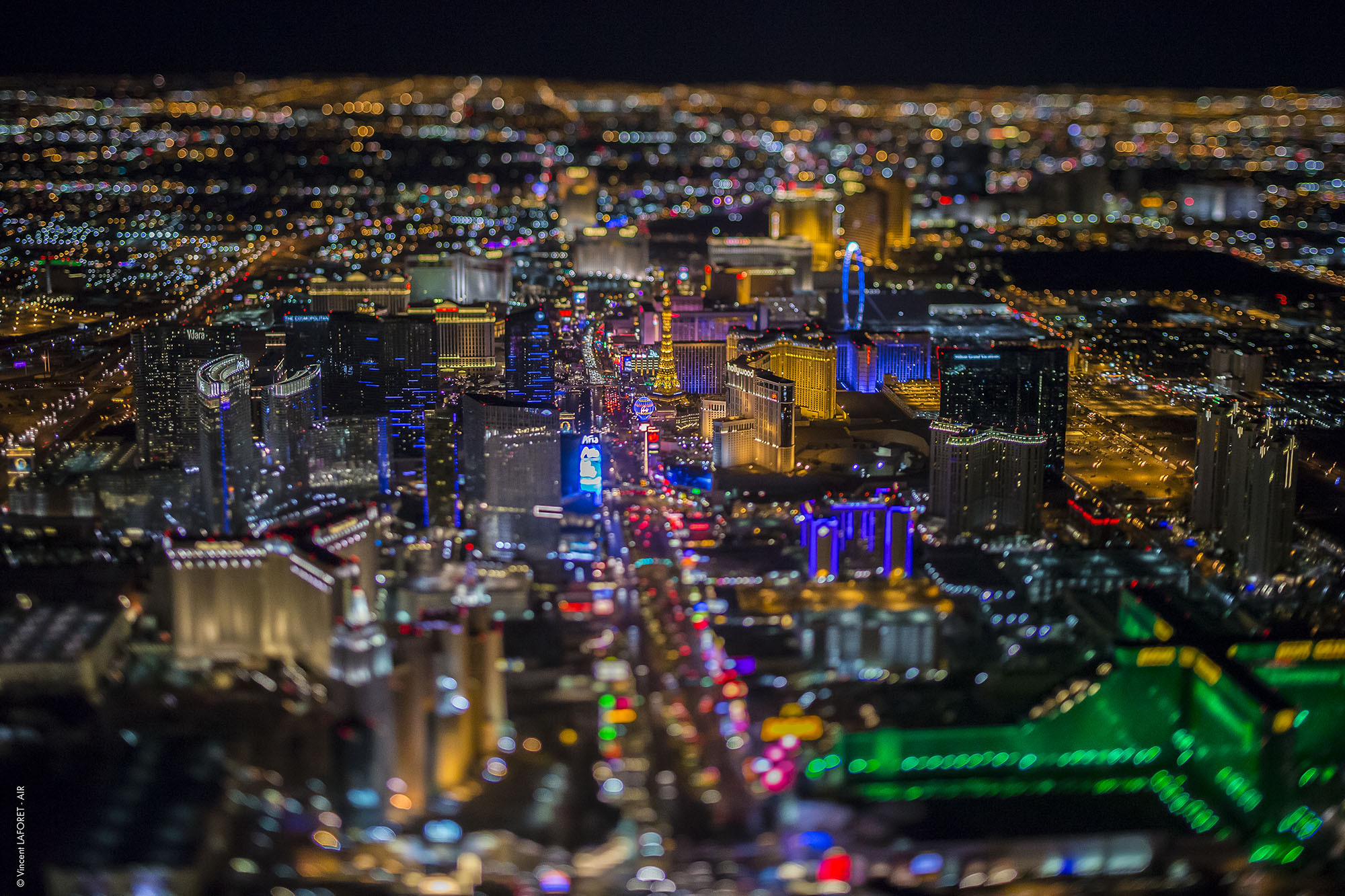 "Vincent Laforet's ""Sin City"" Shows Vegas from 10,800 Feet, © Vincent Laforet"