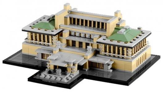 Hotel imperial / Frank Lloyd Wright. Image © © LEGO