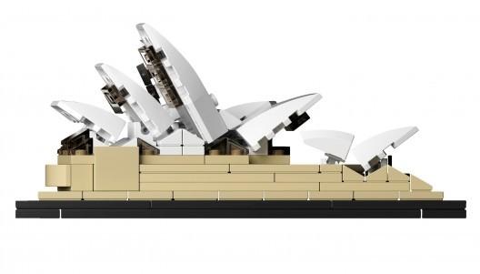 Ópera de Sídney / Jørn Utzon. Image © © LEGO