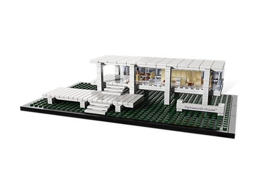 Farnsworth House / Mies van der Rohe. Image © © LEGO
